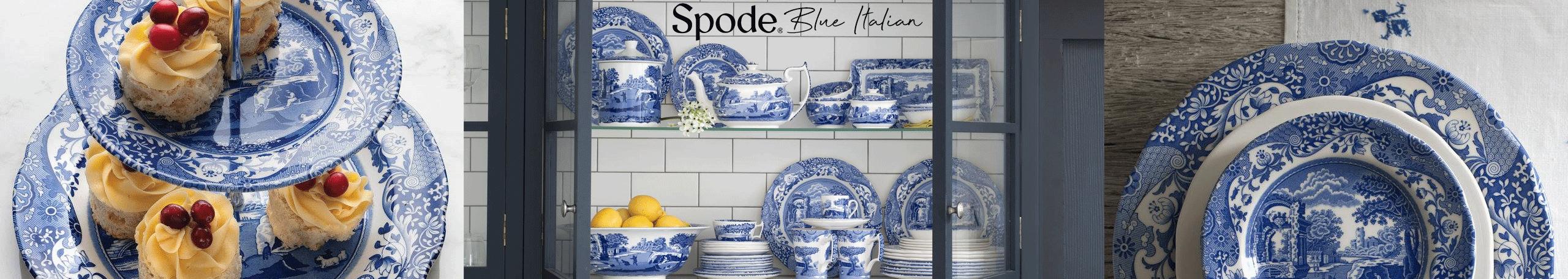 Spode Blue Italian
