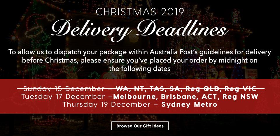 Christmas Deadlines