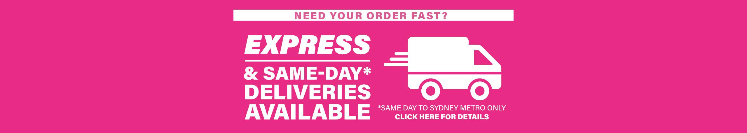 Express Deliveries