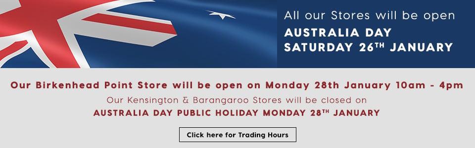 Australia Day Trading Hours