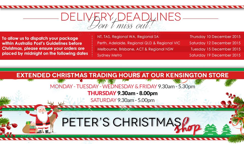 Peter's Christmas Shop
