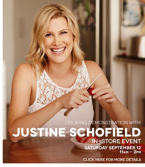 In-Store News Justine Schofield