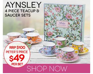 Peters Daily Deal Aynsley-Tea-Sets