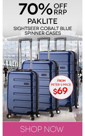 Peters Daily Deal Paklite Cobalt Blue