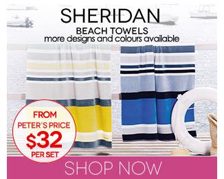 Peters Daily Deal Sheridan Towels