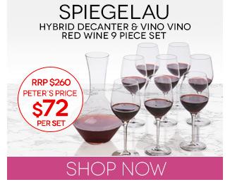 Peters Daily Deal Spiegelau Hybrid Decanter Vino Vino Set