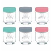 Kilner - Kids Jar Set 6pce 190ml