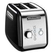 KitchenAid - Classic Two Slice Toaster Onyx Black KMT221