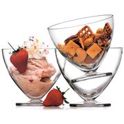 Luigi Bormioli - Van Gogh Dessert Bowl Set 4pce