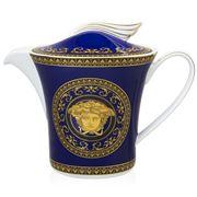 Rosenthal - Versace Medusa Blue Teapot