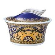 Rosenthal - Versace Ikarus Medusa Blue Sugar Bowl 207ml
