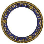 Rosenthal - Versace Medusa Blue Plate 27cm