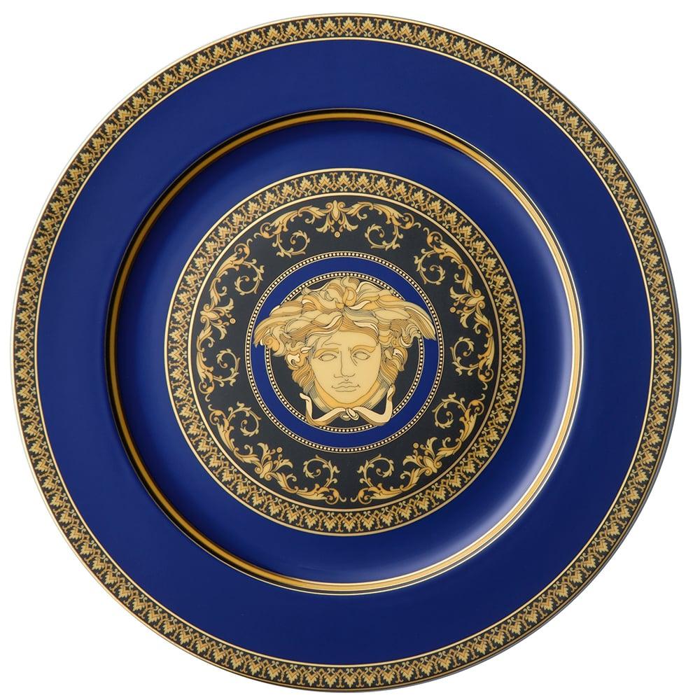 Rosenthal Versace Medusa Blue Service Plate Peter S Of