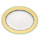 V&B - Twist Alea Limone Oval Platter Large
