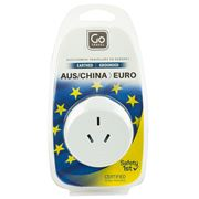 Go Travel - Adaptor Australia for Europe