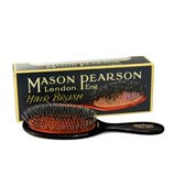 Mason Pearson - Black Junior Bristle & Nylon Brush