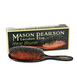 Mason Pearson - Black Popular Bristle & Nylon Brush