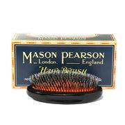 Mason Pearson - Black Junior Bristle & Nylon Military Brush