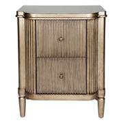Cafe Lighting - Arielle Bedside Table Antique Gold