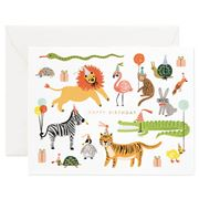 Rifle Paper Co - Party Animals Birthday Card