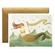 Rifle Paper Co - Vintage Mermaid Birthday Card
