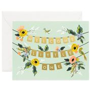 Rifle Paper Co - Welcome Little One Garland Card