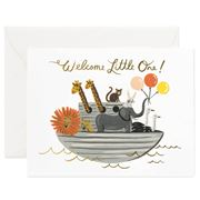 Rifle Paper Co - Noah's Ark Baby Card