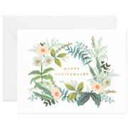 Rifle Paper Co - Anniversary Bouquet Card