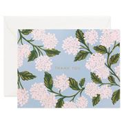 Rifle Paper Co - Hydrangea, Thank You Card