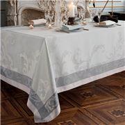 Garnier-Thiebaut - Acanto Tablecloth Platine 115x115cm