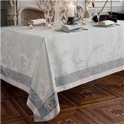 Garnier-Thiebaut - Acanto Table Runner Platine 155x55cm