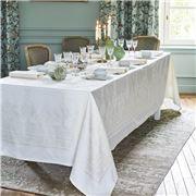 Garnier-Thiebaut - Beauregard Tablecloth White 190x370cm