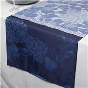 Garnier-Thiebaut - Hortensias Table Runner Blue 55x180cm