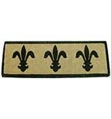 Doormat Designs - Fleur De Lys French Doormat