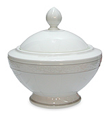 V&B - Grey Pearl Sugar Bowl
