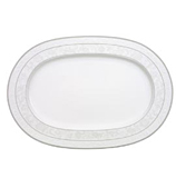 V&B - Grey Pearl Oval Platter
