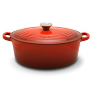 Le Creuset - Cerise Red Oval French Oven 27cm/4.1L