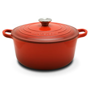 Le Creuset - Cerise Red Round French Oven 24cm/4.2L