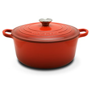 Le Creuset - Cerise Red Round French Oven 26cm/5.3L