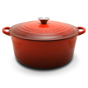 Le Creuset - Cerise Red Round French Oven 28cm/6.8L