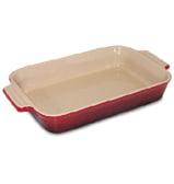 Le Creuset - Cerise Red Stoneware Rectangular Dish 26cm