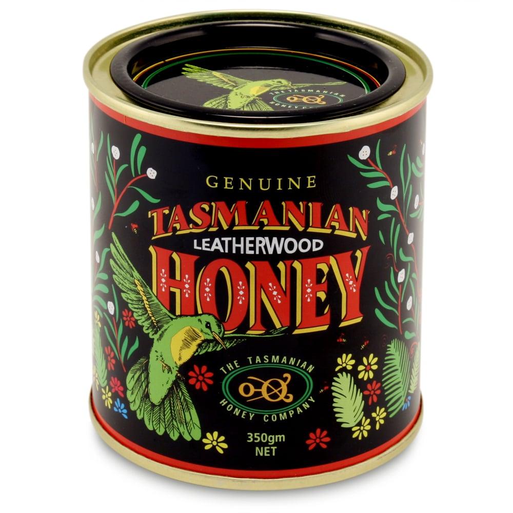 Tasmanian Honey - Leatherwood Honey Can 350g | Peter's of ...