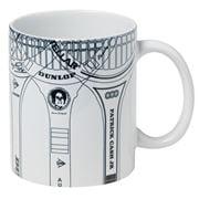 Sporting Nation - Vintage Tennis Racquets Coffee Mug