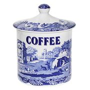 Spode - Blue Italian Coffee Canister
