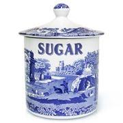 Spode - Blue Italian Sugar Canister