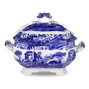 Spode - Blue Italian Soup Tureen