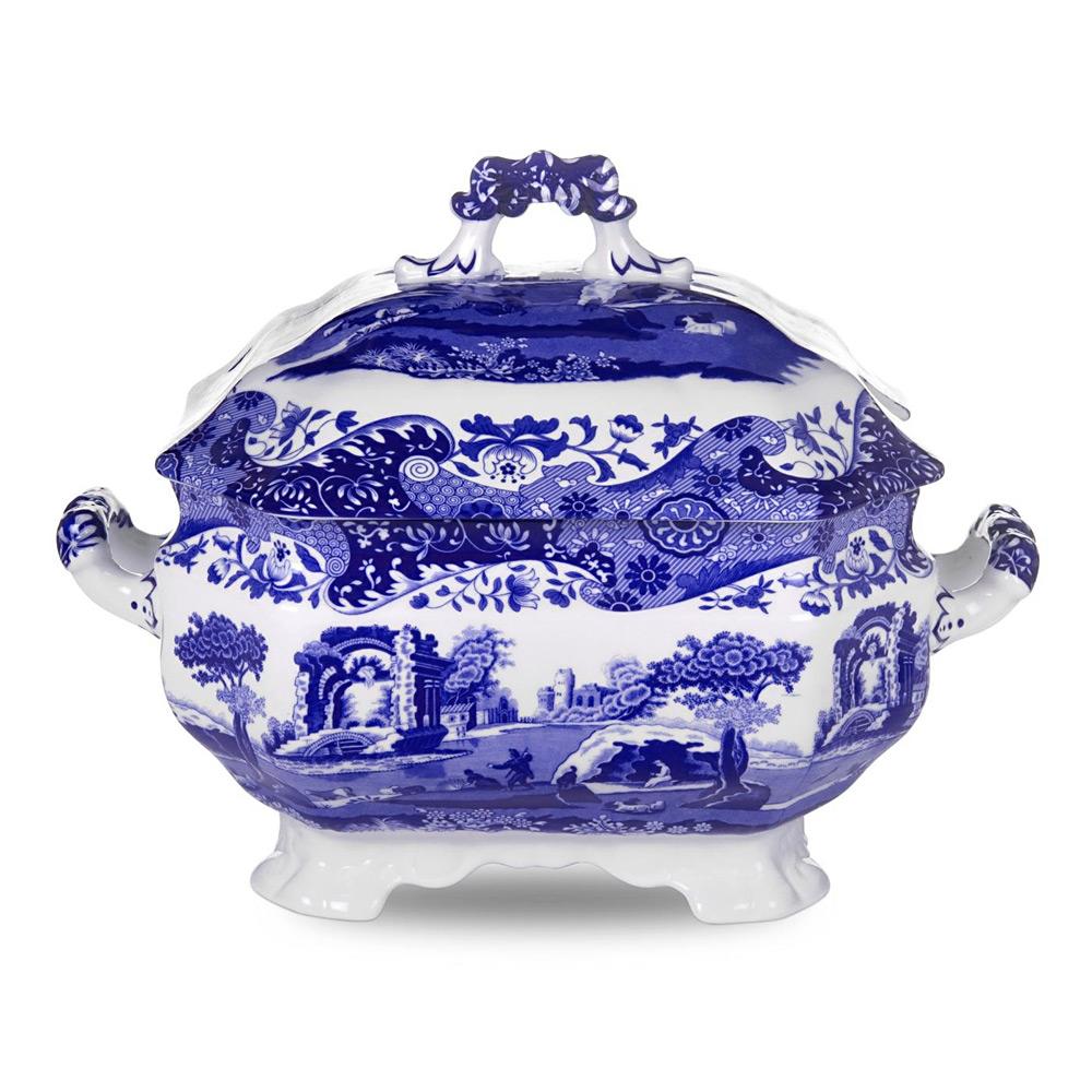 Spode Blue Italian Soup Tureen Peter S Of Kensington