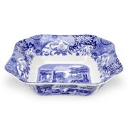 Spode - Blue Italian Square Salad Bowl Medium