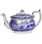 Spode - Blue Italian Teapot