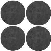 ZicZac - Truman Coaster Set Black 4pce